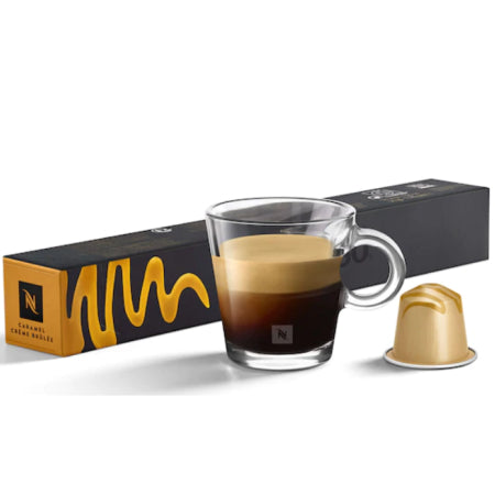 Nespresso Caramel Creme Brulee Coffee Capsules (10) | Discount Coffee