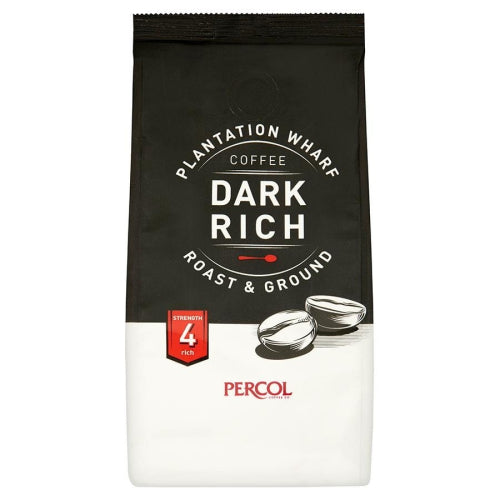 Percol Plantation Wharf Dark Ground Coffee (150g)