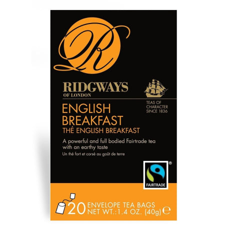 Ridgways English Breakfast Tea Bags (20)