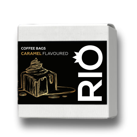 Rio Caramel Flavoured Coffee Bags (10) | Discount Coffee
