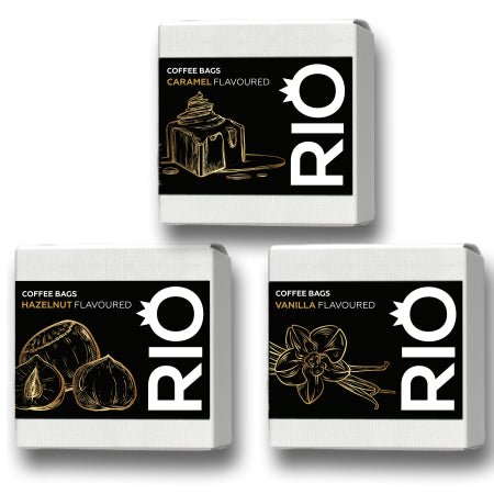Rio Vanilla Flavoured Coffee Bags (10) | Discount Coffee