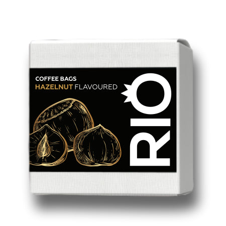 Rio Hazelnut Flavoured Coffee Bags (10) | Discount Coffee