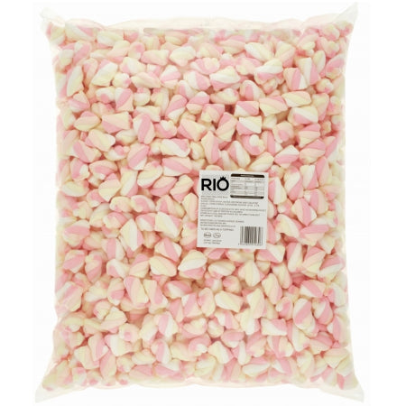 Mini Marshmallow Twists Toppings - Halal (1kg) | Discount Coffee