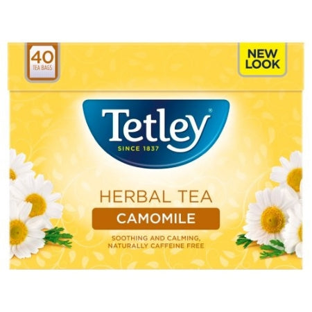 Tetley Camomile Herbal Infusion (40 bags)