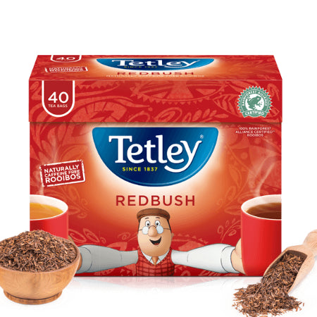 Tetley Redbush Tea (40 bags)