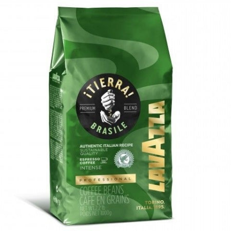Lavazza Tierra Brasile (Intense) Espresso Coffee Beans 1kg | Discount Coffee