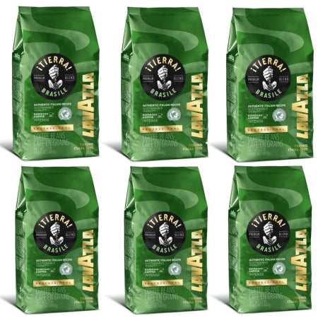 Lavazza Tierra Brasile (Intense) Espresso Coffee Beans 6x1kg | Discount Coffee