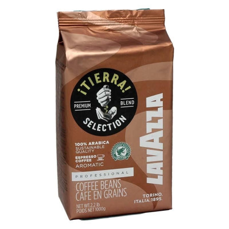 Lavazza Tierra Selection Coffee Beans 100% Arabica (1kg) | Discount Coffee