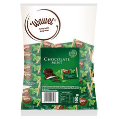 Wawel Chocolate Mint Fondants Individually Wrapped (1kg) Image