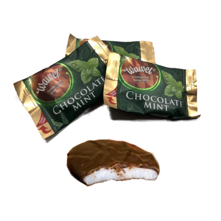 Wawel Chocolate Mint Fondants Individually Wrapped (1kg)