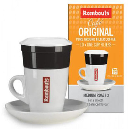 Rombouts One Cup Coffee Filters (Pack of 10) - DiscountCoffee