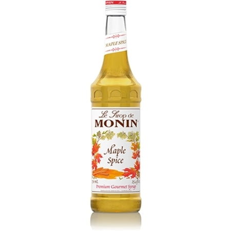 Monin Maple Spice Flavouring Syrup (700ml)