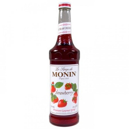 Monin Strawberry Flavouring Syrup (700ml)