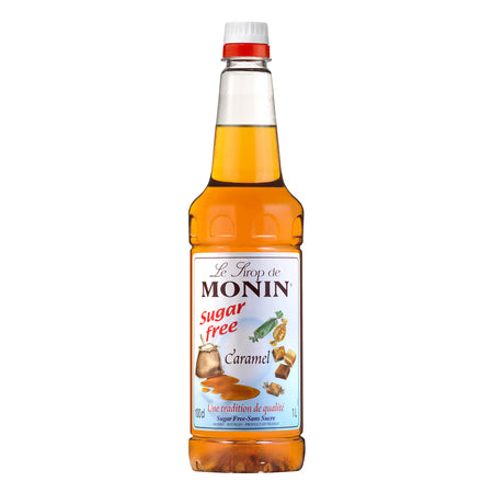 Monin Sugar Free Caramel Flavouring Syrup (1 Litre)