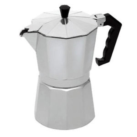 3 Cup Aluminium Stove Top Coffee Maker - DiscountCoffee