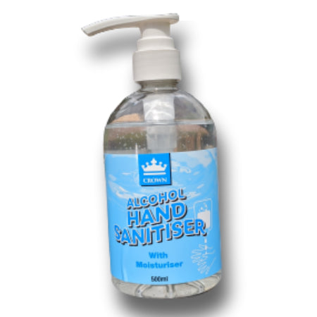 Antibacterial Alcohol Hand Sanitiser Gel (Large 500ml)