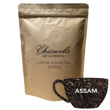 Chiswell's Assam Loose Tea (250g) | Discount Coffee