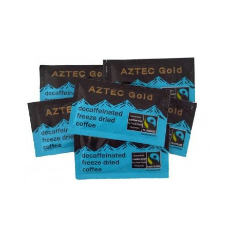Aztec Gold Arabica Decaffeinated Fairtrade Coffee Sachets (250) - DiscountCoffee