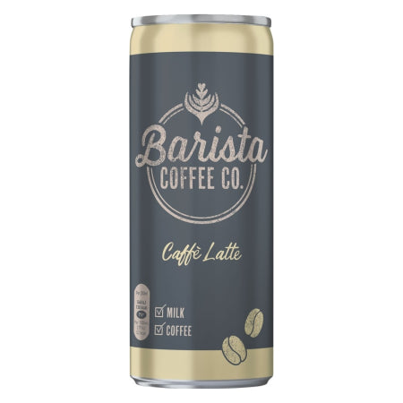 Barista Coffee Co.  Caffe Latte Iced Coffee 250ml | Discount Coffee