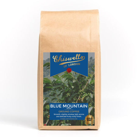 Chiswells Blue Mountain AA Ground Coffee (500g) | Discount Coffee