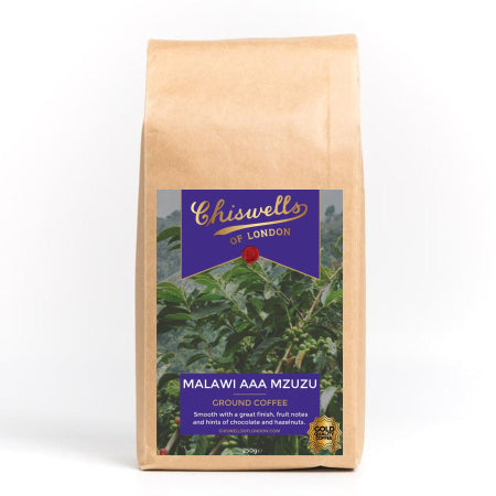 Malawi AAA Mzuzu Ground Coffee (250g) | Discount Coffee