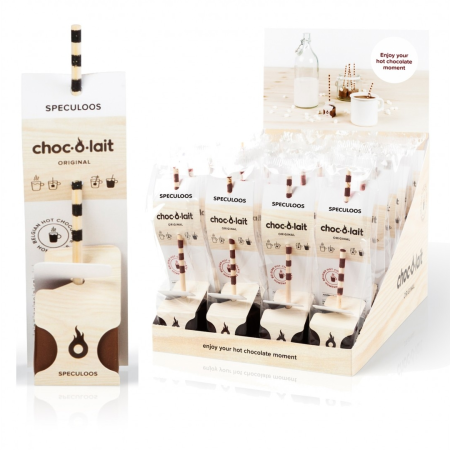 Choc-O-Lait - Stir In Hot Chocolate -  Speculoos Cinnamon & Ginger (33g)