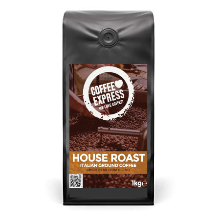 Coffee Express Italian House Roast Ground Coffee 1kg | Discount Coffee