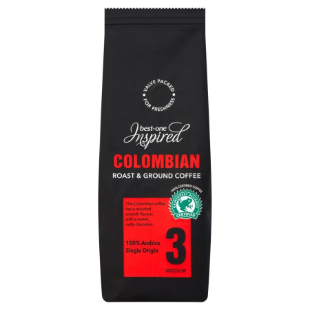 Inspired Colombian Roast Ground Coffee (227g) | Discount Coffee