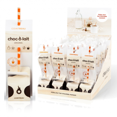 Choc-O-Lait - Stir-In Hot Chocolate - Cointreau (33g)