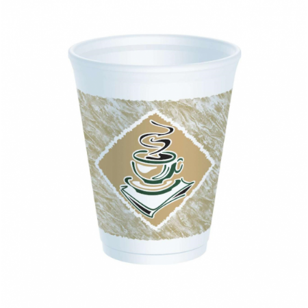 12oz Cafe Gourmet Polystyrene Cups (1000)