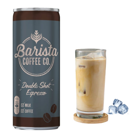 Barista Coffee Co. Double Shot Espresso Iced Coffee 250ml | Discount Coffee