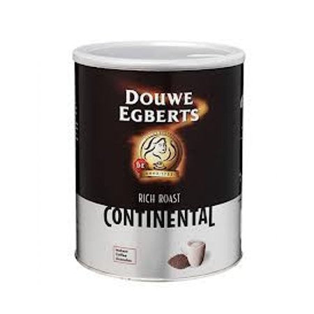 Douwe Egberts Continental Rich Roast Coffee Tin 750g - DiscountCoffee