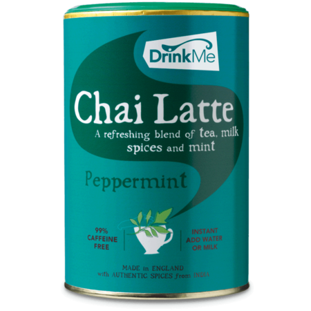Drink Me Chai Peppermint Chai Latte (250g) - DiscountCoffee