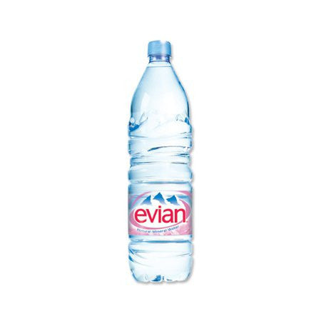 Evian Water 1.5L (12 x 1.5L) - DiscountCoffee