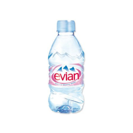 Evian Water 330ml (24 x 330ml) - DiscountCoffee