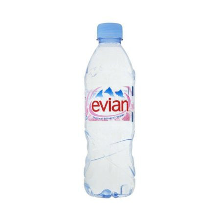 Evian Water 500ml (24 x 500ml) - DiscountCoffee