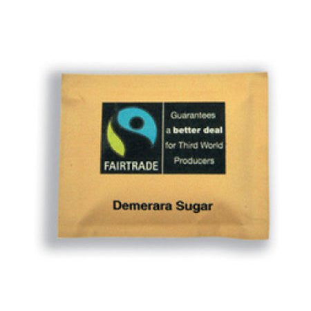 Fairtrade Brown Sugar Sachets (1000) - DiscountCoffee