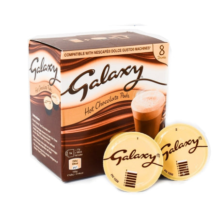 Galaxy Hot Chocolate - Dolce Gusto Pods (8) | Discount Coffee