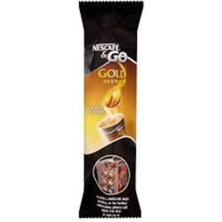 Nescafe And Go Gold Blend Black Coffee Pack (8) - DiscountCoffee
