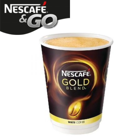 Nescafe And Go Gold Blend White Coffee Pack (8)