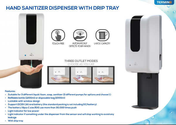 Hands-Free Sanitiser Dispenser | Discount Coffee