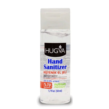 Antibacterial Alcohol Hand Sanitiser Gel (50ml) | Discount Coffee