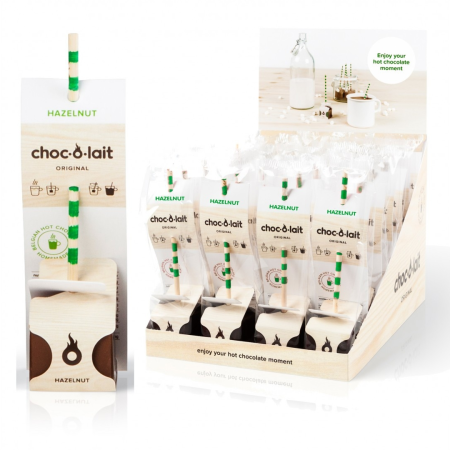 Choc-O-Lait - Stir-In Hot Chocolate - Hazelnut (33g)