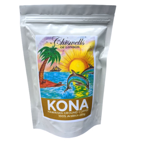 100% Arabica Kona Ground Coffee (250g)