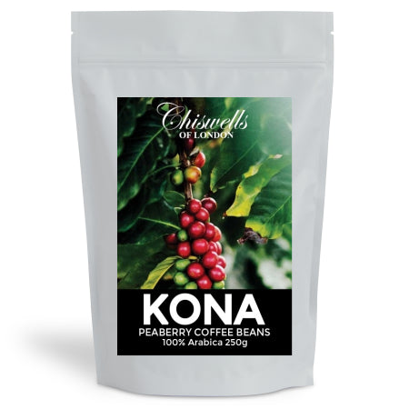 Kona Peaberry Coffee 100% Arabica - Rare (250g) | Discount Coffee