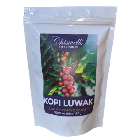 Indonesian Kopi Luwak Coffee Beans (160g) | Discount Coffee