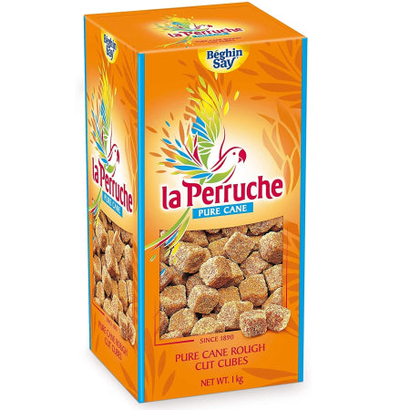 Sugar Cubes - La Perruche (1kg Brown Sugar) - Discount Coffee