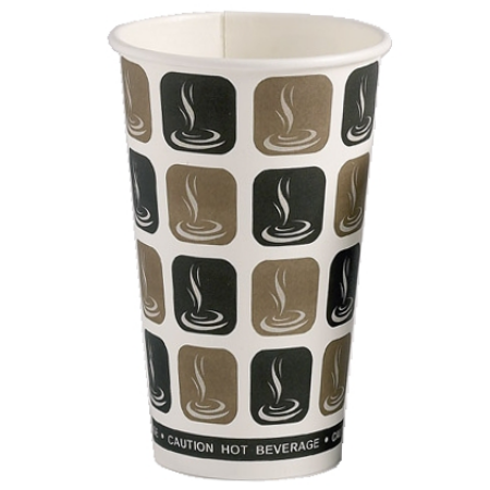 16oz Disposable Paper Coffee Cups 1000 (453ml)