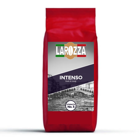 Larozza Intenso Italian Coffee Beans (1kg) | Discount Coffee
