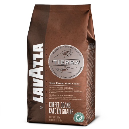 Lavazza Tierra Selection Coffee Beans 100% Arabica (1kg)